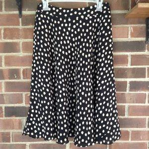 Like new Jones New York polkadot ❤️100% silk skirt
